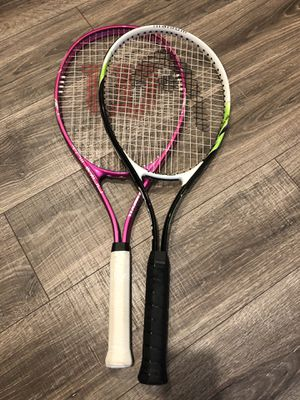 (2) Tennis Rackets / Racquets for Sale in Whittier, CA