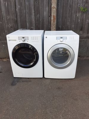 KENMORE WASHER AN DRYER SET for Sale in Puyallup, WA