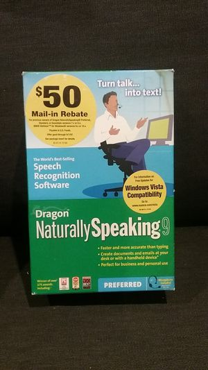 Dragon naturally speaking 9 for Sale in Ferndale, WA