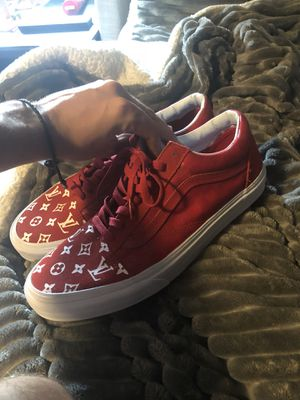 Custom supreme louis vuitton vans for Sale in Orland Park, IL