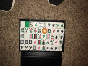 Genuine ivory MAH JONG set complete dice and all for Sale in Richland, WA