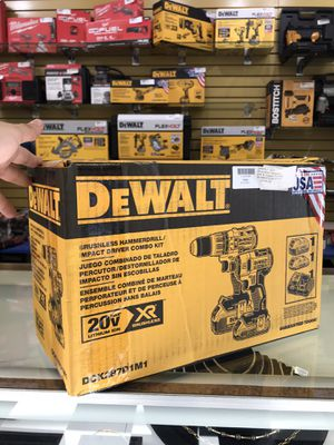 DeWalt Brushless Hammer Drill and Impact Combo Kit DCK287D1M1 for Sale in Lawrence, MA