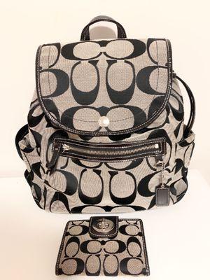 Coach bag+ wallet for Sale in Fairfax, VA