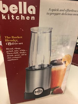 Bella rocket blender 17 pc for Sale in Columbus, OH