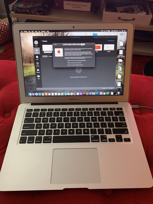 Perfect Condition: 2017 Apple MacBook Air Core i5 Storage 256 GB