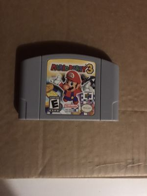 Mario Party 3 Nintendo 64 for Sale in Opa-locka, FL