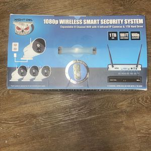 Night Owl 1080p Wireless Smart Security System for Sale in Nashville, TN