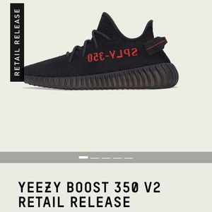 Yeezy 350 V2 Core Black/Red for Sale in Los Angeles, CA