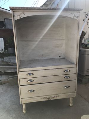 Shabby Sheek Armoire for Sale in Long Beach, CA