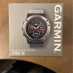 Garmin Fenix 5x Sapphire Edition Multisport for Sale in Bothell,  WA