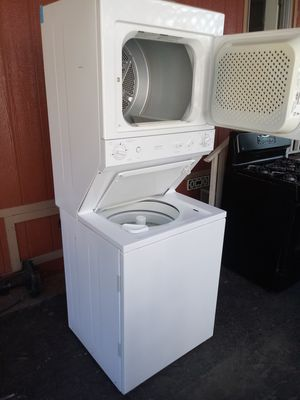Stackable washer and gas dryer$395 for Sale in Paramount, CA