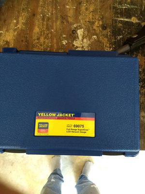 Yellow jacket vacuum gage for Sale for sale  San Antonio, TX