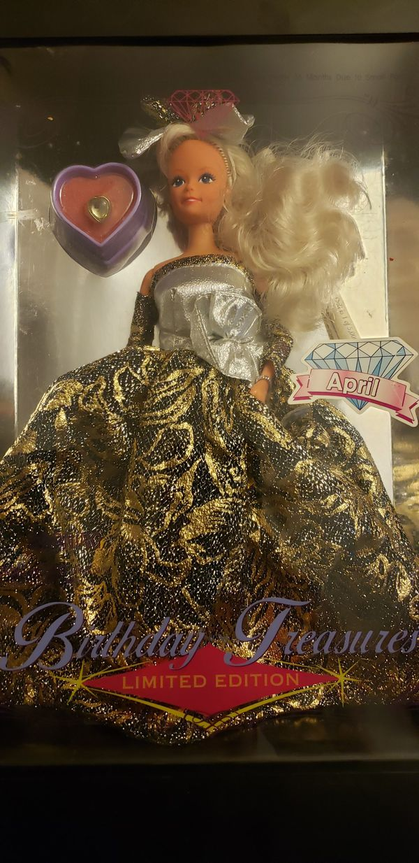 Birthday tresures Barbie limited edition