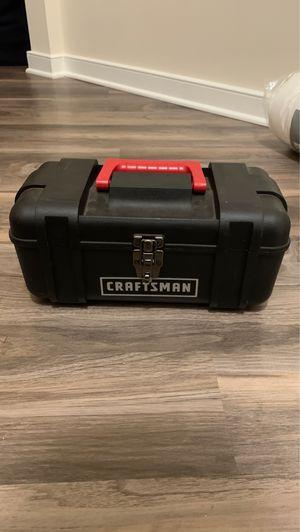Plastic craftsman toolbox for Sale in Bristow, VA