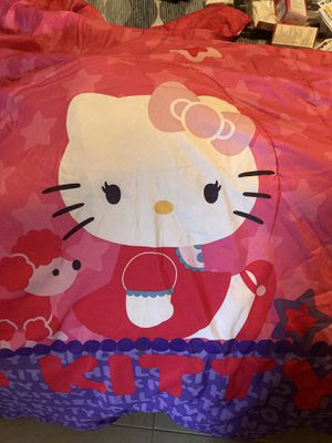 Hello kitty's bed cover twin full for Sale in Pembroke Pines, FL