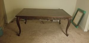 Dinning room table, sofa bed and chairs for Sale in Powder Springs, GA
