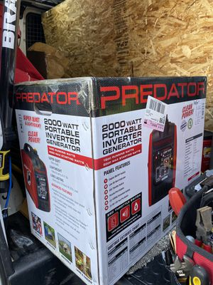 Predator Generator new in box. for Sale in Seattle, WA
