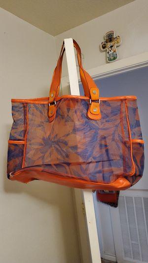 Large orange and blue bag for Sale in San Antonio, TX