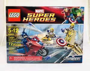 LEGO Marvel 6865 Captain America's Avenging Cycle New Sealed Excellent Condition for Sale in Chino, CA