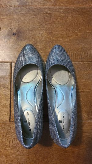 Silver - wedge heel - comfortable - Bandolino for Sale in Mountain View, CA