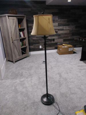 Beautiful brushed bronze floor lamps for Sale in Salt Lake City, UT