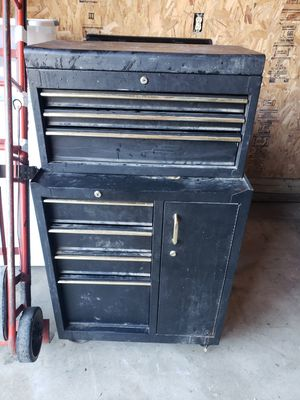TOOLBOX WITH TOOLS for Sale in New Holland, PA