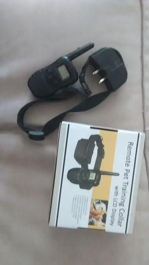Remote pet training collar for Sale in Coal Valley, IL