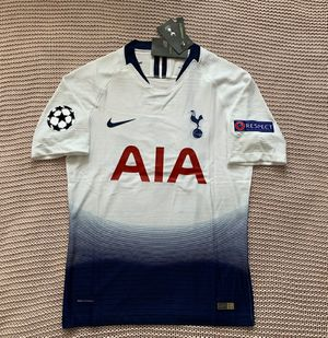 Harry Kane #10 - Tottenham Hotspur Soccer Team - Brand New Men's White Champions League 2018 / 2019 Player Version Soccer Jersey - Size S and M for Sale in Chicago, IL
