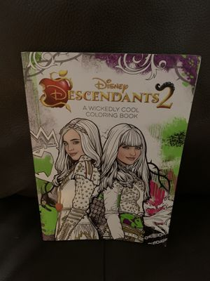 Descendants 2 coloring book for Sale in Davenport, FL