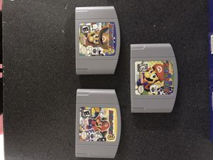 N64 MARIO party 1 2 3 lot read! for Sale in Springfield, OR