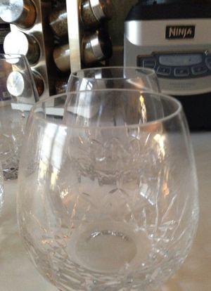 Waterford red wine glasses for Sale in Chevy Chase, MD