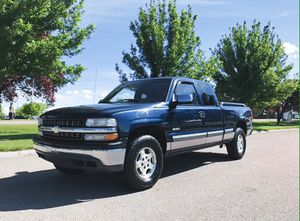Chevy Silverado 4x4 Blue for Sale in Hoboken, NJ