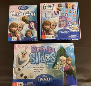 Frozen them Boardgames for Sale in Miami, FL