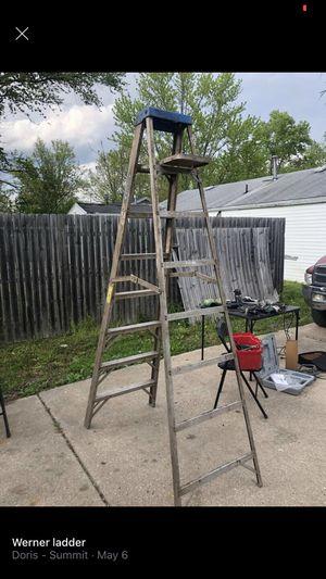 Werner ladder for Sale in Washington, IL