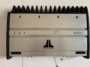 JL Audio 500/1 monoblock subwoofer amplifier for Sale in Dallas, TX