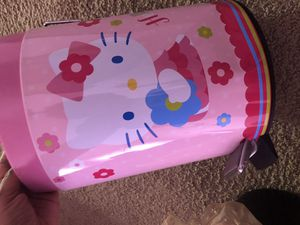 5 piece Hello Kitty Bedroom Accessory Set for Sale in Ypsilanti, MI