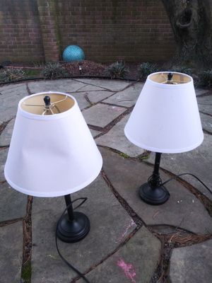 Lamp set of 2 for Sale in Gaithersburg, MD
