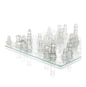 Fine Glass Chess Game Set for Sale in Southfield, MI