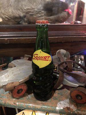 Antique Vintage 1950s 1960s Squirt Soda Pop Bottle for Sale in Dania Beach, FL