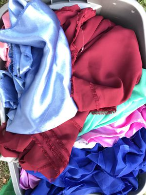 SEWING PROJECTS!! Special occasion fabric lot! $10 fill a grocery bag! for Sale in Gig Harbor, WA