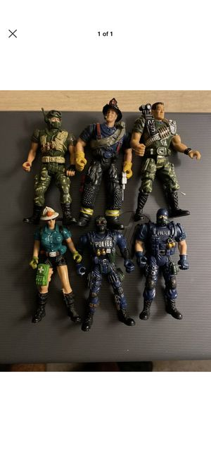 Chap Mei Police, Soldiers, Firefighters action figures for Sale in Fayetteville, NC