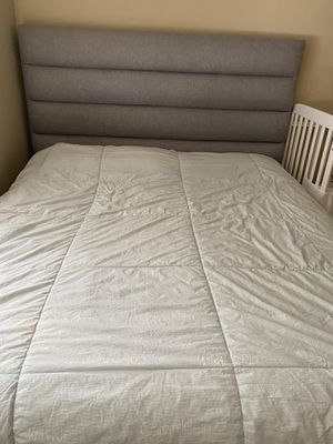 Bedroom Set Frame mattress and two boxes firm price for Sale in Scottsdale, AZ