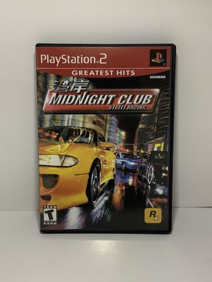 PS2 Midnight Club Street Racing for Sale in Weston, FL