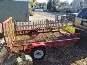5x8 utility trailer for Sale in Sultan, WA