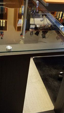 Chrome And Glass Desk for Sale in Issaquah,  WA