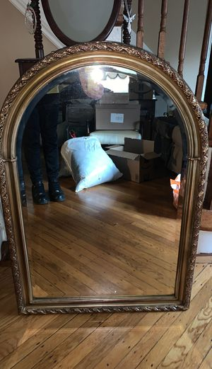 Gold wall mirror for Sale in Lynbrook, NY
