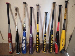 Baseball bats Asst for Sale in Selma, CA