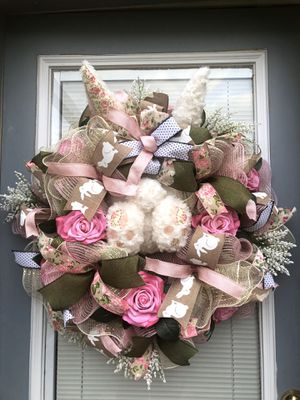 Easter Vintage Style Wreath for Sale in Virginia Beach, VA