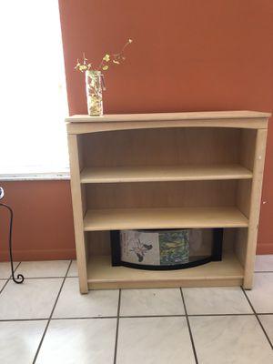 Natural wood bookshelves for Sale in Tamarac, FL