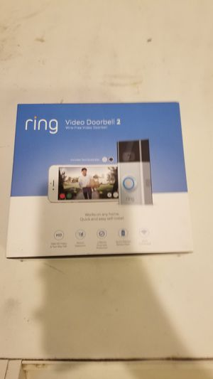 Ring Video Doorbell 2 Brand New for Sale in Livermore, CA
